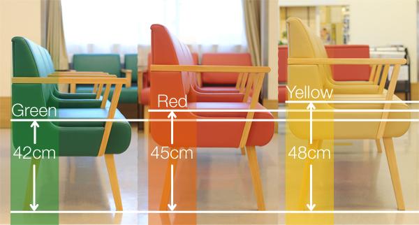 待合椅子比較