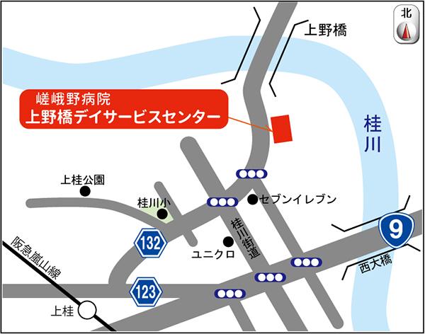 上野橋地図